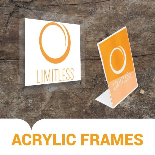 Custom Acrylic Frames to Promote Your Tattoo Shop Specials
