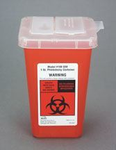 Bemis Multi-Use Sharps Containers - Available in 1 Quart, 5 Quart and 2 Gallon Sizes