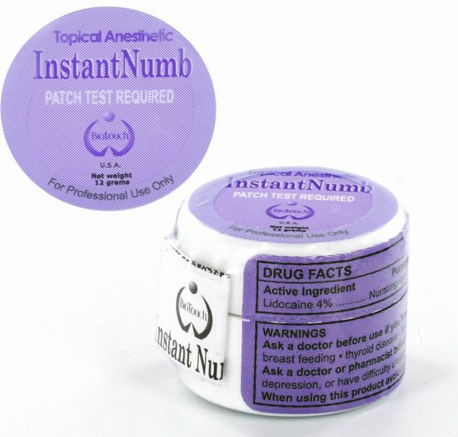 Instant Numb Topical Anesthetic Cream | Permanent Makeup Anesthetic