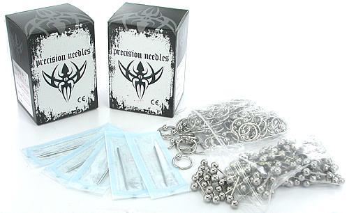 Body Piercing Needles, Body Jewelry and Other Piercing Supplies