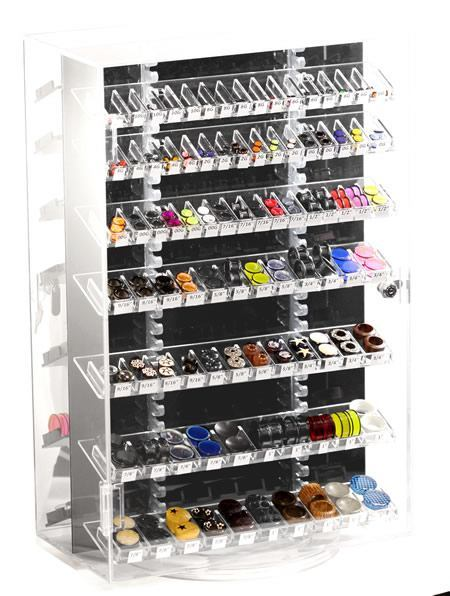 Plug Display Case With 383 Pieces of Jewelry