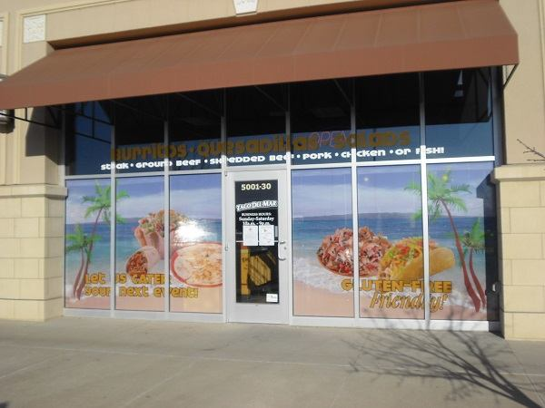 Outdoor Window Perforated Film for Advertising Your Shop to the Outside World