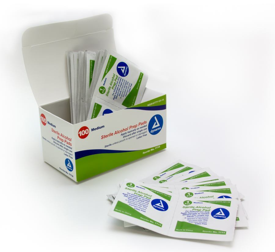 Alcohol Prep Pads | Tattoo Antiseptic Products