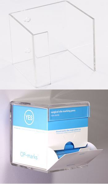 Wall-Mounted Acrylic Precision Surgical Skin Marker Dispenser