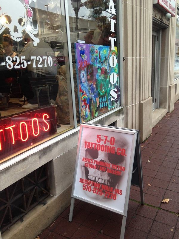 A-Frame Signs to Advertise Your Tattoo Shop