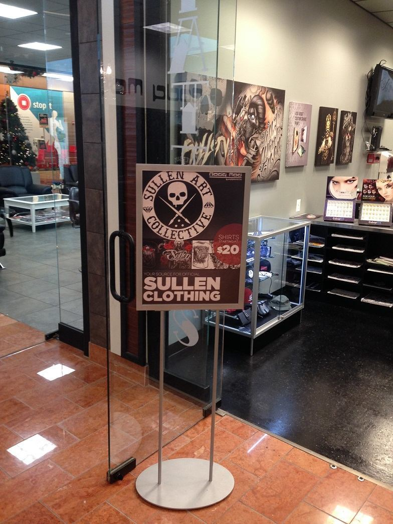Custom Poster Stand | Limitless Custom Signs and Custom Displays