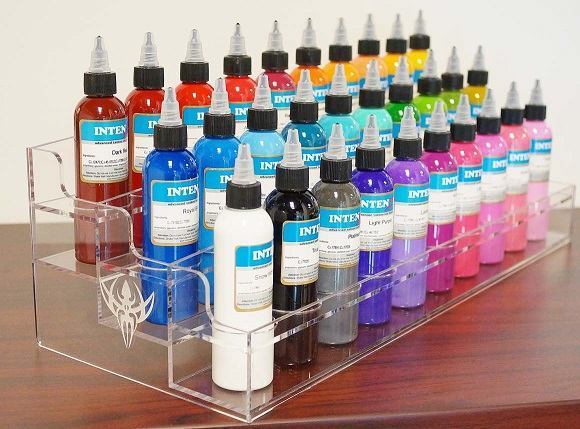 Tattoo Ink Holder | Acrylic Stand for Storing Tattoo Ink