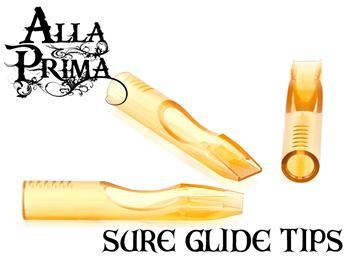 Alla Prima Sure Glide Tips | Autoclavable Tattoo Tips