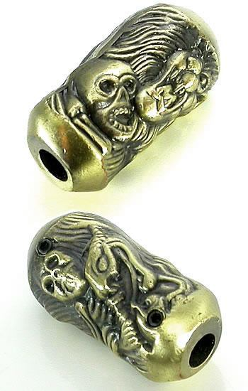 Skull Embossed Mayan Tattoo Grips